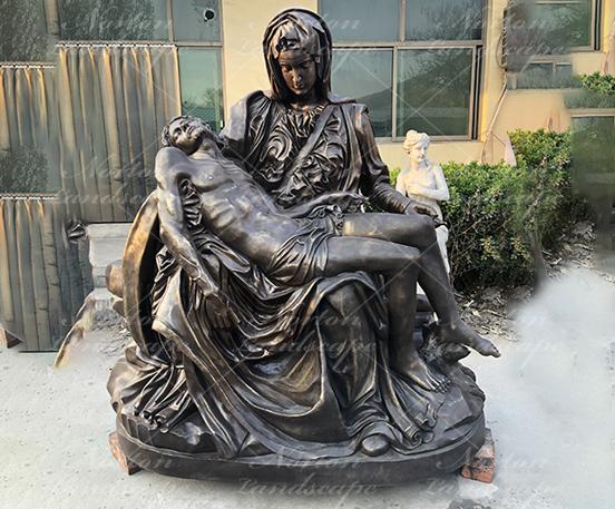 Bronze Pieta Statue