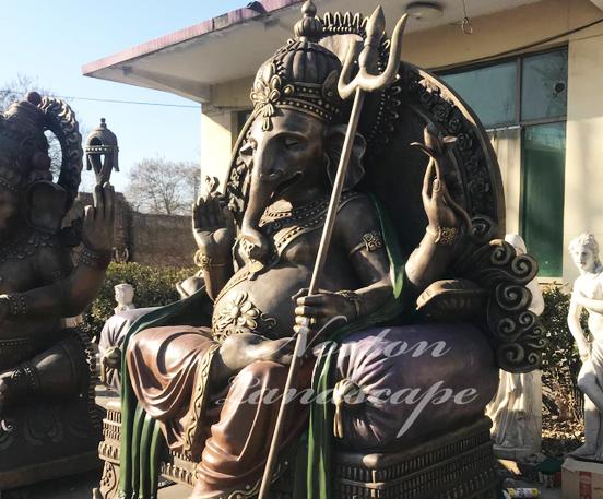 Bronze Ganesha statues