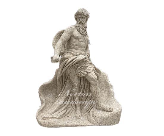 marble Poseidon sculpture
