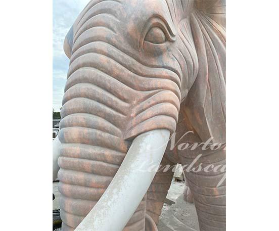 White marble elephant