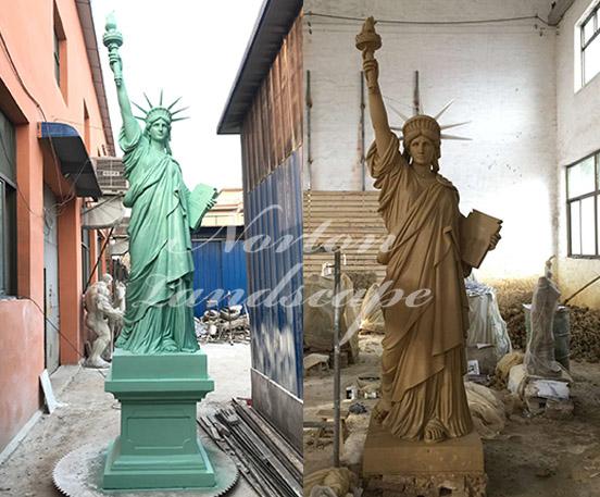 Bronze Statue of Liberty
