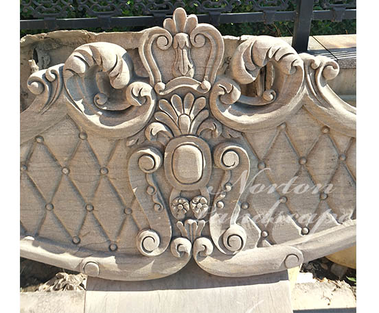 Antique marble bench