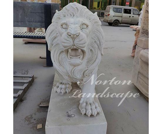 Hot sale marble lion statues