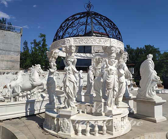 European marble gazebo