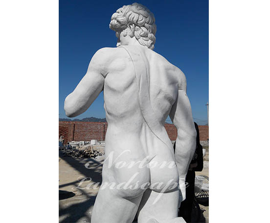 Marble david sculpture statue naked