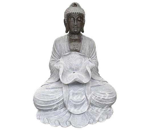 Marble buddha statue water fountain